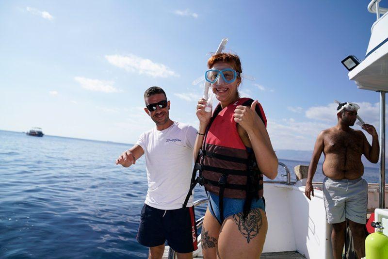 snorkeling vs. scuba diving